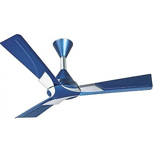 """Orient Electric Wendy Ceiling Fan Azure Blue - Silver 48"""" 1200Mm price in India."""