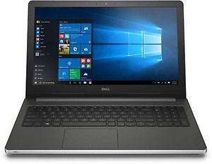 Dell Inspiron 5559 15.6-inch Laptop (Intel Core i5-6200U/8 GB/1 TB/Win 10/AMD Radeon R5 M335 4GB DDR3/without bag), Silver price in India.