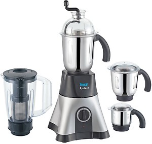 Boss Cyclone B219 750-Watt Mixer Grinder (Black and Silver) price in India.