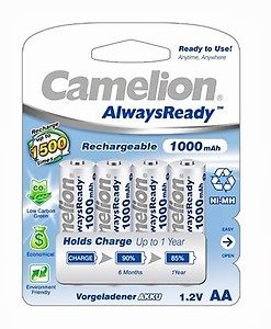 Camelion NH-AA1000 ARBP4 Rechargeable Battery price in India.