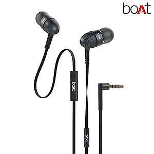 boAt Bass Heads 225 in-Ear Headphones with Mic (Frosty White) price in India.