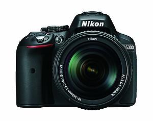 Nikon D5300 24.2 MP CMOS Digital SLR Camera with 18-140mm f/3.5-5.6G ED VR AF-S DX NIKKOR Zoom Lens (Black) price in India.