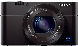 Sony Cybershot DSC-RX100M3 20.1MP Digital Camera with Bag (Black) price in India.