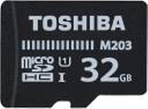 Toshiba M203 32GB Class 10 Micro SD Memory Card (THN-M203K0320A4) price in India.