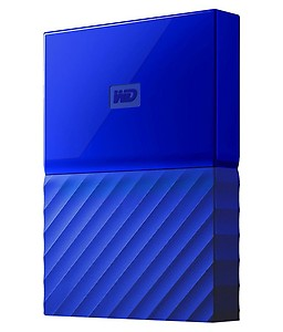 WD My Passport 4TB Portable External Hard Drive (Black) price in India.