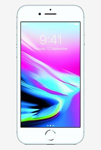 Apple iPhone 8 (Silver, 256GB) price in India.