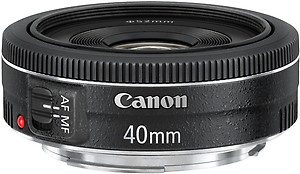 Canon EF 40 mm f/2.8 STM  Lens price in India.