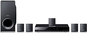 Sony DAV-TZ145 Dolby Digital 360 W Home Theatre(Black, 5.1 Channel) price in India.