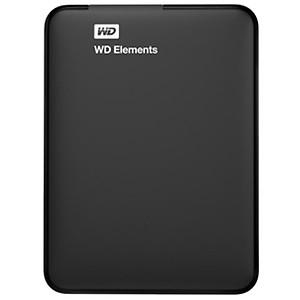 Western Digital Elements 1TB USB 3.0 Portable External Hard Drive (Black) price in India.