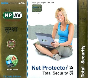 Net Protector Total Security 1.0 User 1 Year(CD/DVD) price in India.