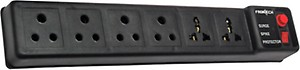 Frontech JIL 3513 6 Socket Extension Boards  (Black) price in India.
