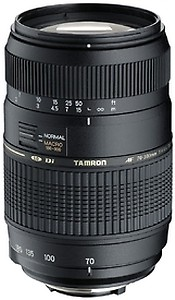 Tamron A17S AF 70-300mm F/4-5.6 Di LD Macro Telephoto Zoom Lens with Hood for Sony DSLR Camera (Black) price in India.
