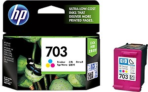 HP 703 Single Color Ink Cartridge price in India.