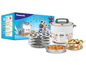 Panasonic SR-W18GH CMB Food Steamer, Rice Cooker(4.4 L, Lemon) price in India.