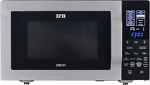 IFB 25 L Convection Microwave Oven(25SC4, Metallic Silver) price in India.
