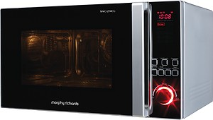 Morphy Richards 25 L Convection Microwave Oven(25MCG, Silver) price in India.