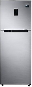 Samsung 324 L 3 Star Inverter Frost Free Double Door Refrigerator(RT34M5538S8/HL, Elegant Inox, Convertible) price in India.
