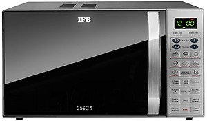 IFB 25 L Convection Microwave Oven (25SC4, Metallic Silver, With Starter Kit) price in India.