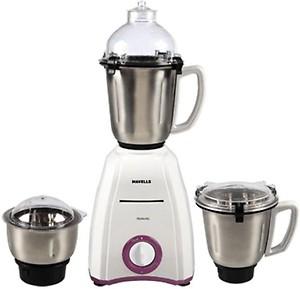 Havells momenta 600 W Mixer Grinder(Purple, White, 3 Jars) price in India.