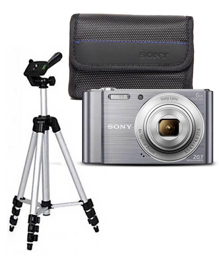 Sony Cybershot W810 201mp Combo With Lightweight Aluminum Tripod Cyber Shot Price In India Coupons And Specifications Payback