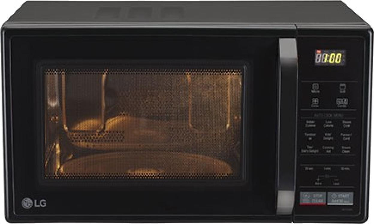 LG MC2146BL 21 L Convection Microwave Oven