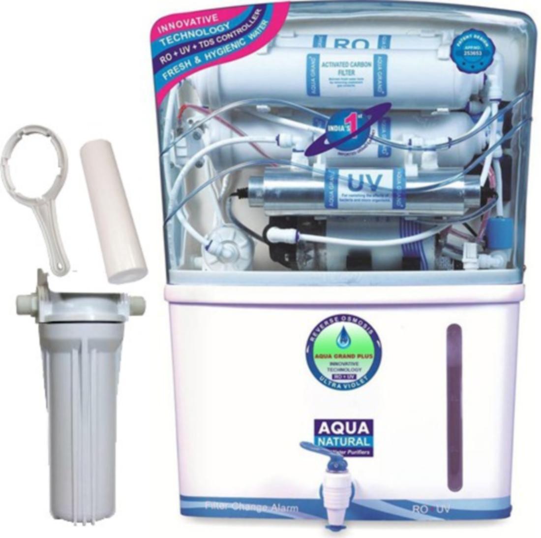 Aquagrand Plus 14 Stage Purification 12 L RO + UV +UF Water Purifier ...